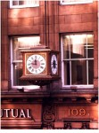 Scottish Mutual Clock