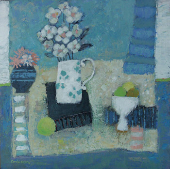 'Still Life in Blue'