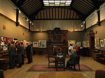 Exhibition of Charles Anderson's Paintings 'The President's Retrospective in the Gallery at the Glasgow Art Club